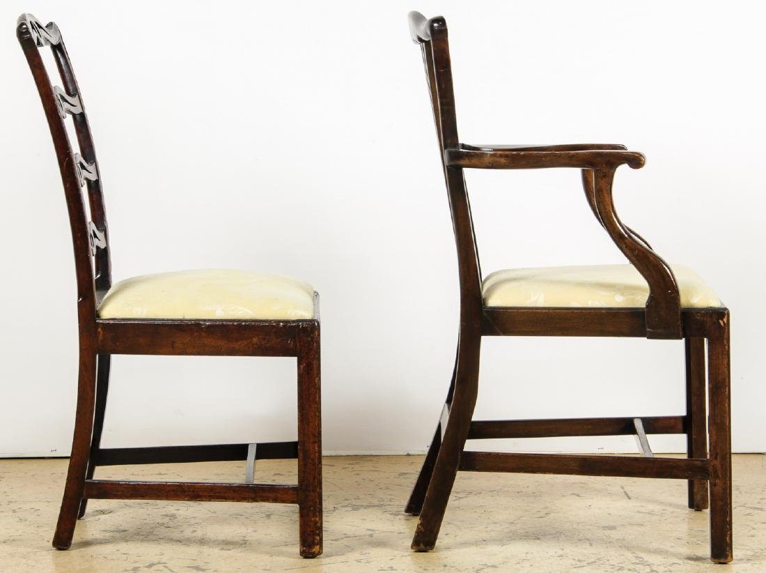 2 Antique Philadelphia/English Chairs & Shaker Quilt - 7
