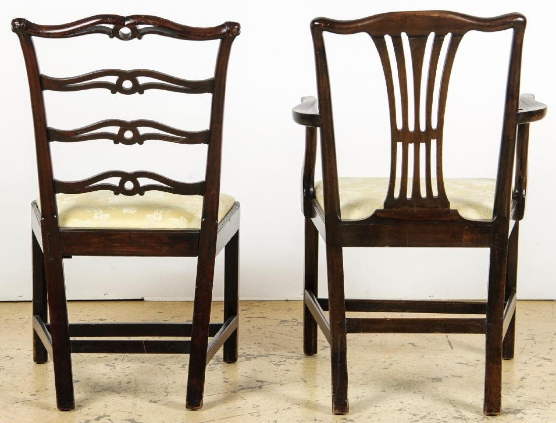 2 Antique Philadelphia/English Chairs & Shaker Quilt - 8