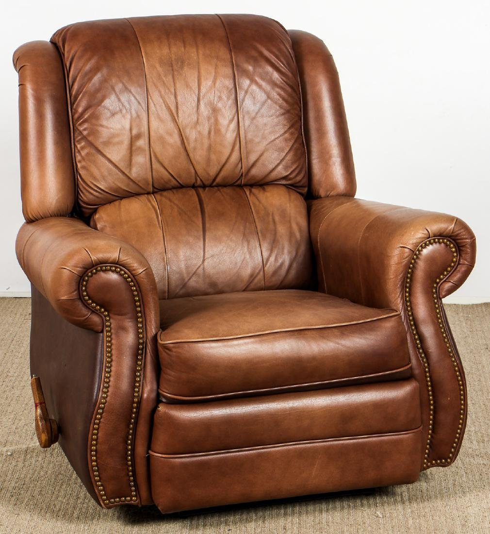 Modern Leather Recliner Chair