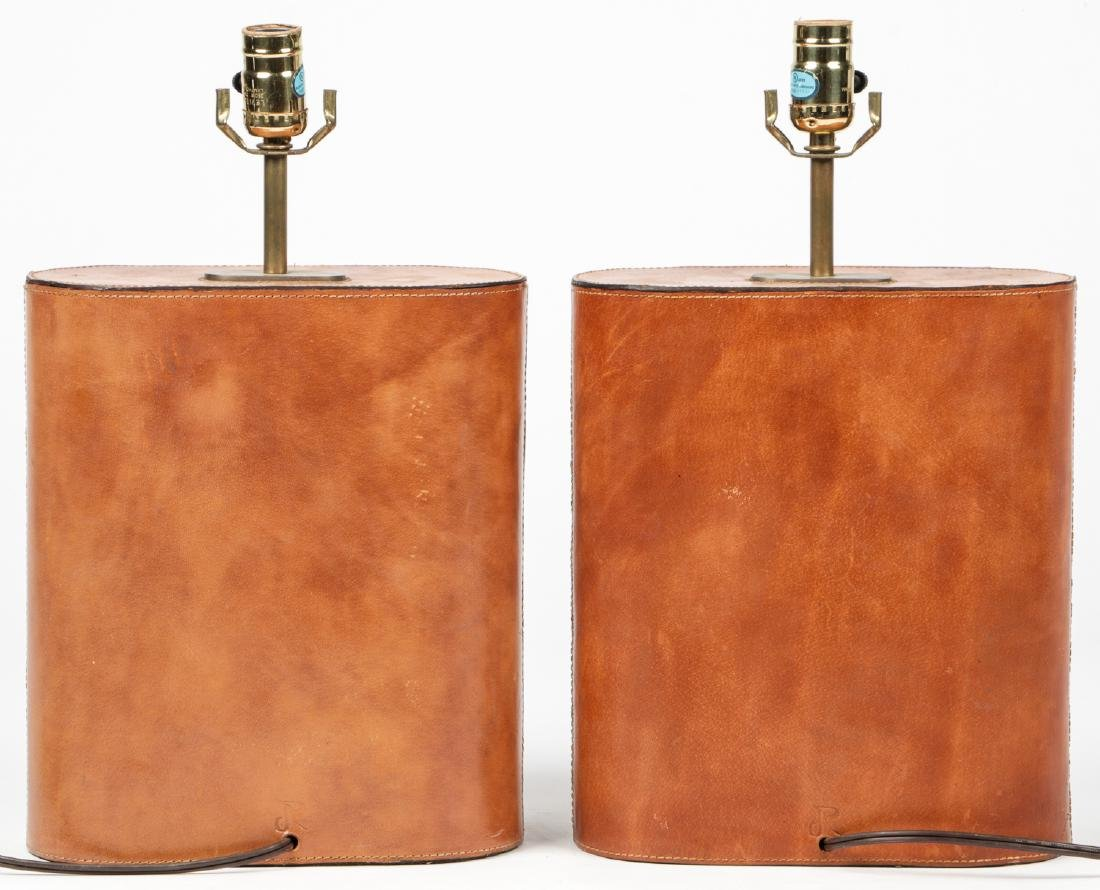 Modern Leather Clad Lamps - 3