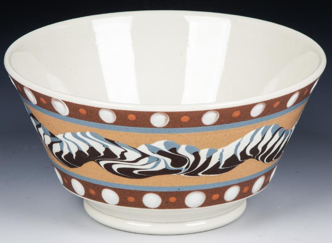 Don Carpentier Mochaware Bowl