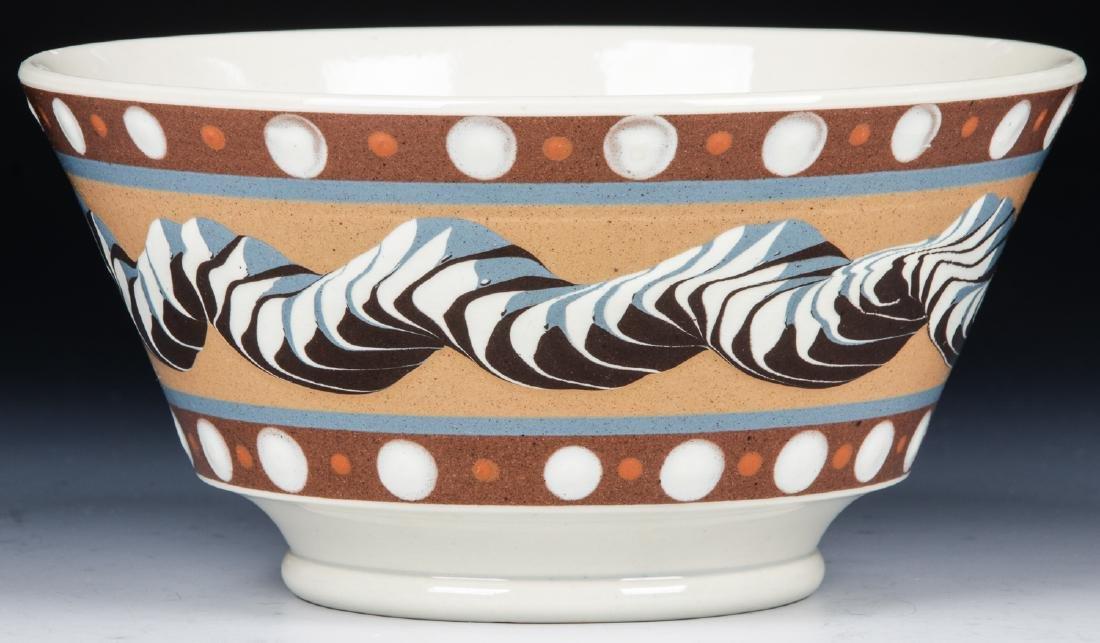 Don Carpentier Mochaware Bowl - 3