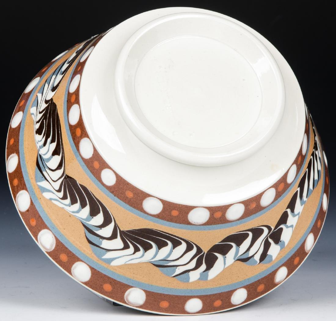 Don Carpentier Mochaware Bowl - 5