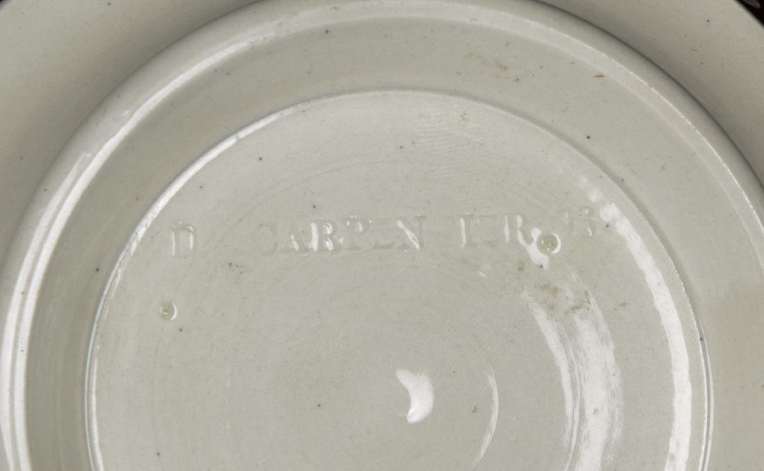 Don Carpentier Mochaware Bowl - 6