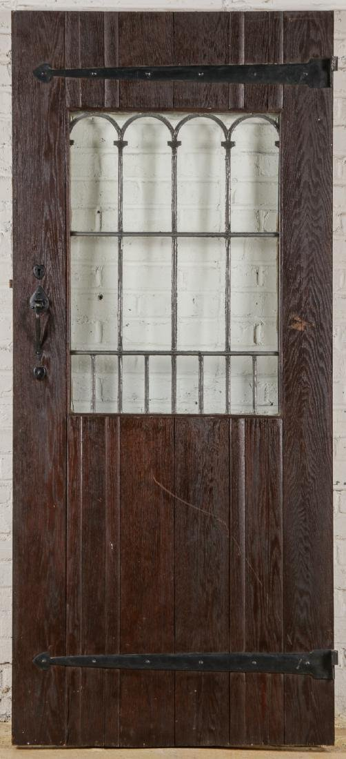 2 Craftsman Arts and Crafts Style Mission Doors - 2
