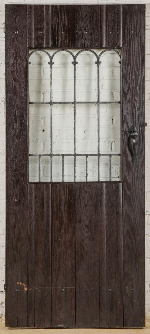 2 Craftsman Arts and Crafts Style Mission Doors - 3