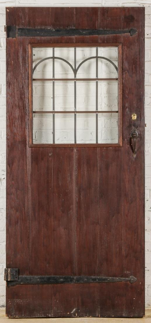 2 Craftsman Arts and Crafts Style Mission Doors - 4