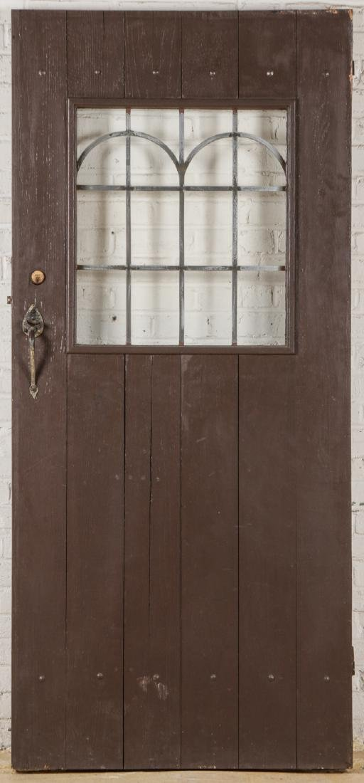 2 Craftsman Arts and Crafts Style Mission Doors - 5