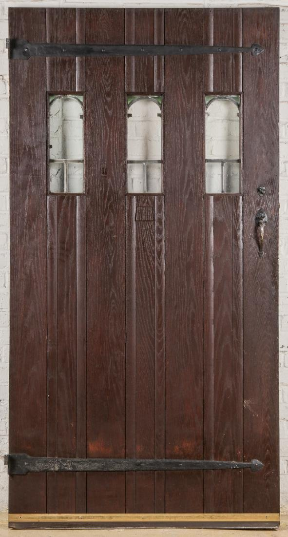 3 Craftsman Arts and Crafts Style Mission Doors - 5