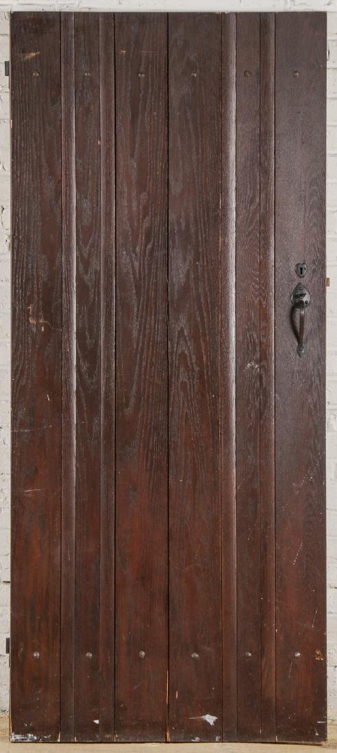 3 Craftsman Arts and Crafts Style Mission Doors - 6