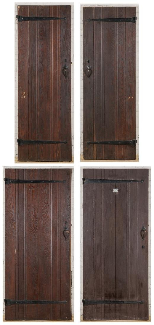 4 Craftsman Arts and Crafts Style Mission Doors