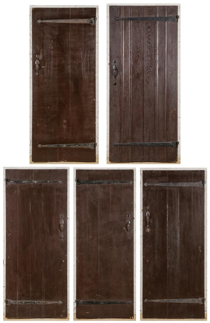 5 Craftsman Arts and Crafts Style Mission Doors