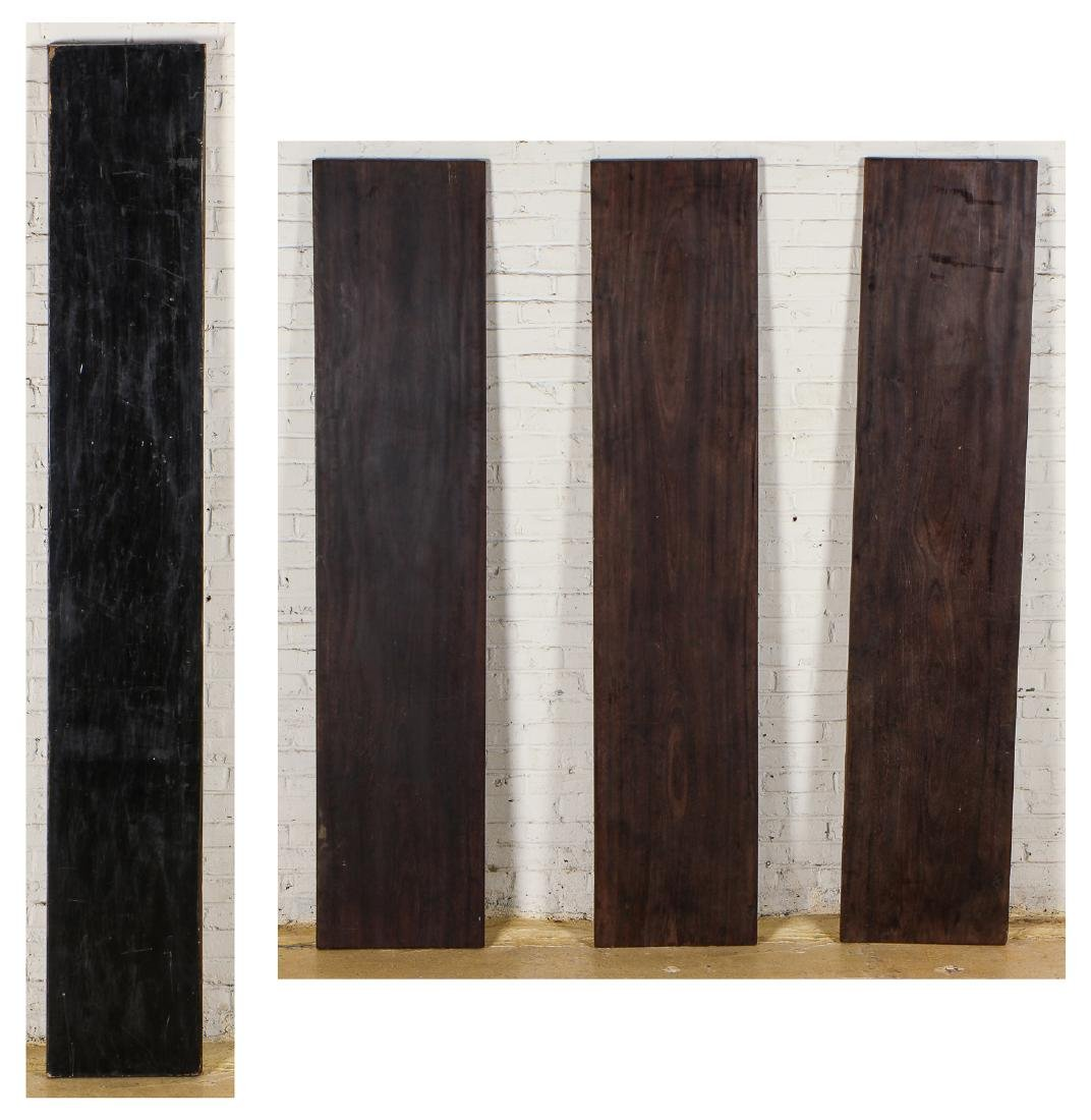 4 Planks of Long Ago Collected Asian Hardwood