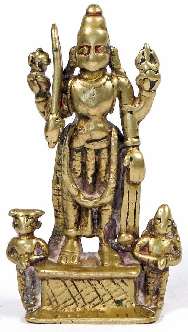 18th/19th C. Bronze Virabadhra, India