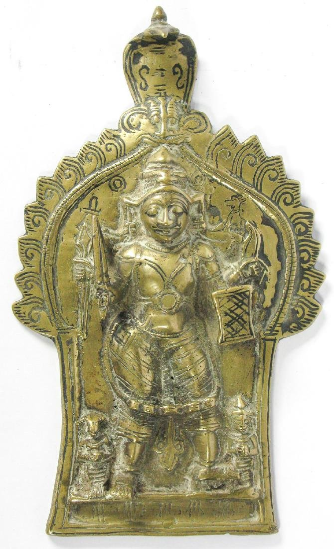 Virabhadra Plate, India, 19th c.