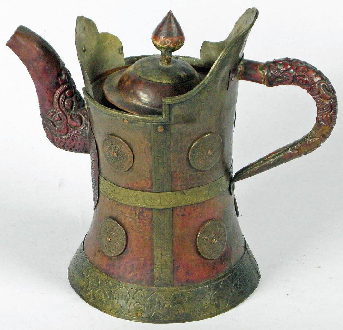 Ritual Ewer from Tibet or Mongolia, 19th c. or Earlier