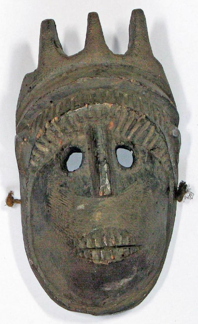 Wooden Mask, India, 19th c.