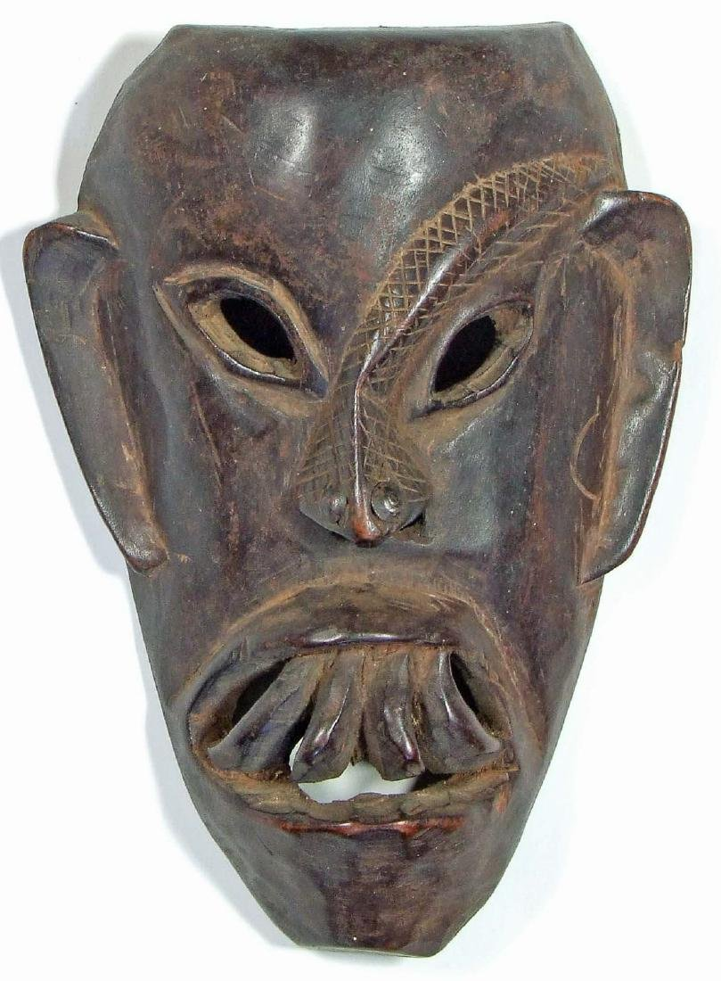 Wooden Mask, Northern India