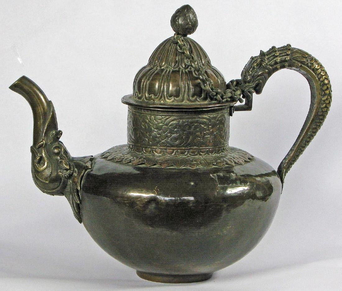 Tibetan Teapot, Late 19th c.