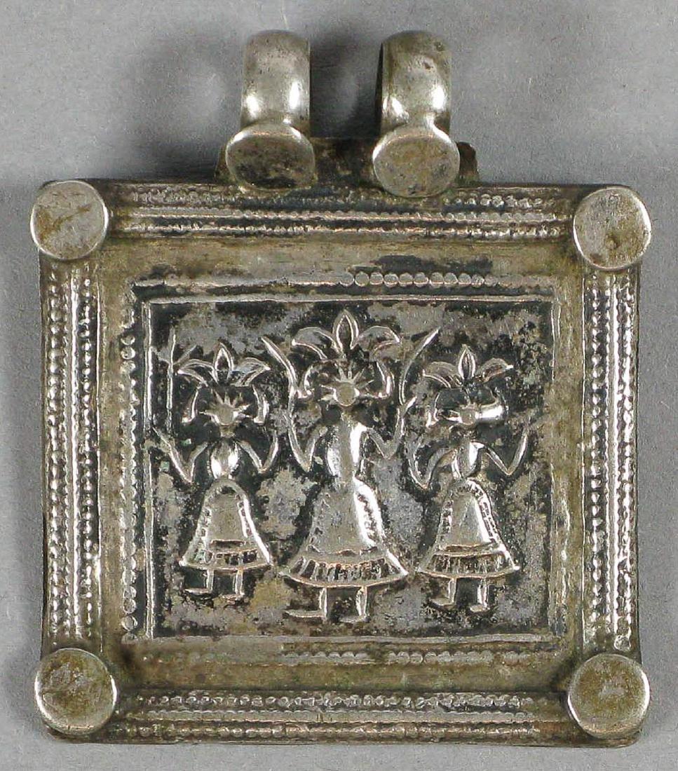 Amulet, India, 19th c.