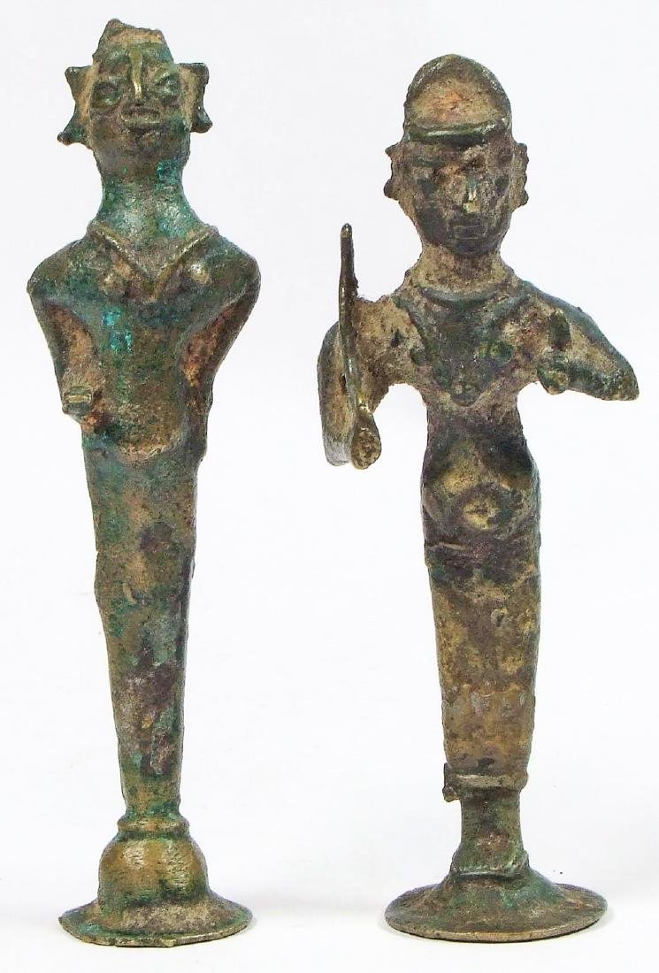 Two 18th/19th C. Bronzes from Pudhukottai, South India