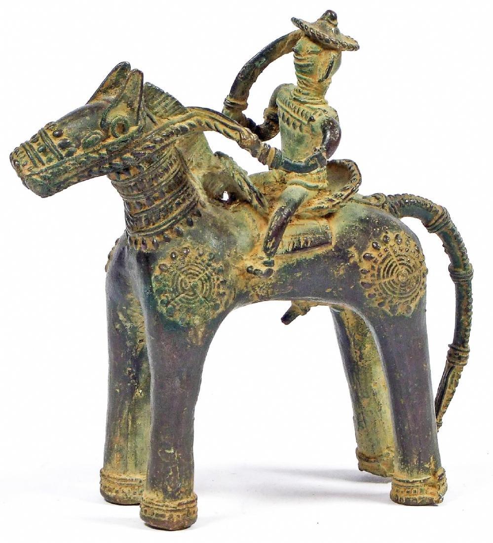Rider on Horse, India, 19th c.