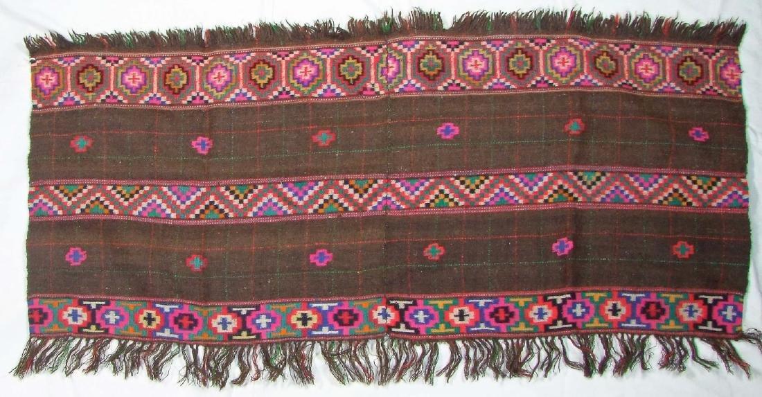Shawl or Shoulder Cloth, India,  Himachal Pradesh