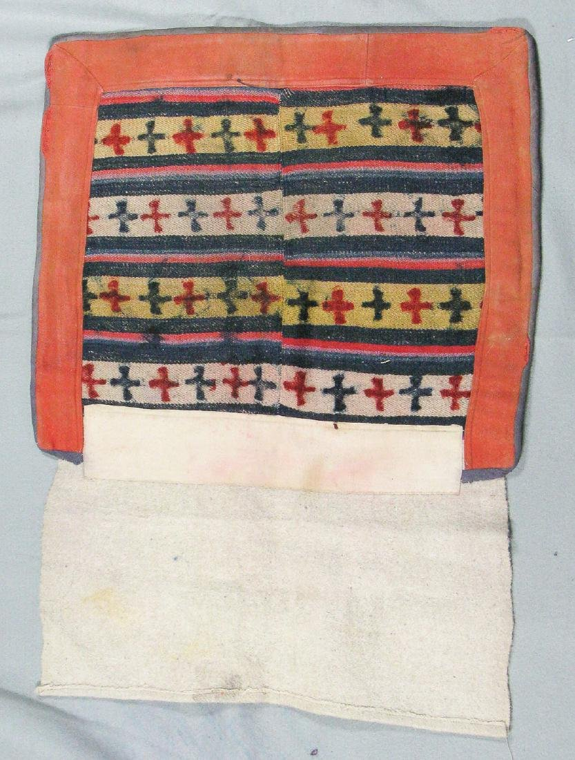 Antique Saddle Blanket, Central Tibet