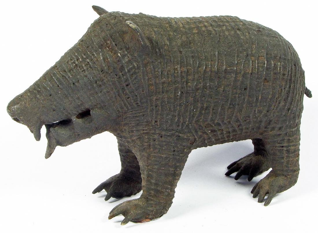 Maliah Kond Sculpture: Boar, India, Early 20th c.