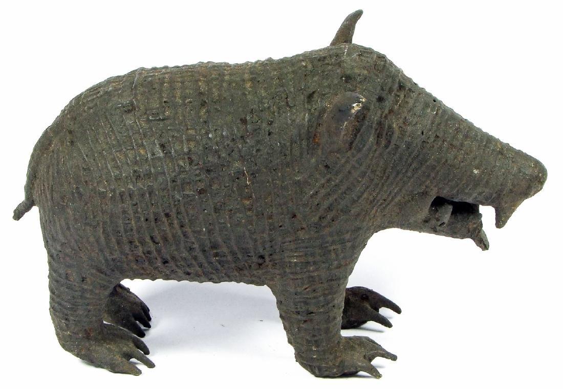 Maliah Kond Sculpture: Boar, India, Early 20th c. - 2