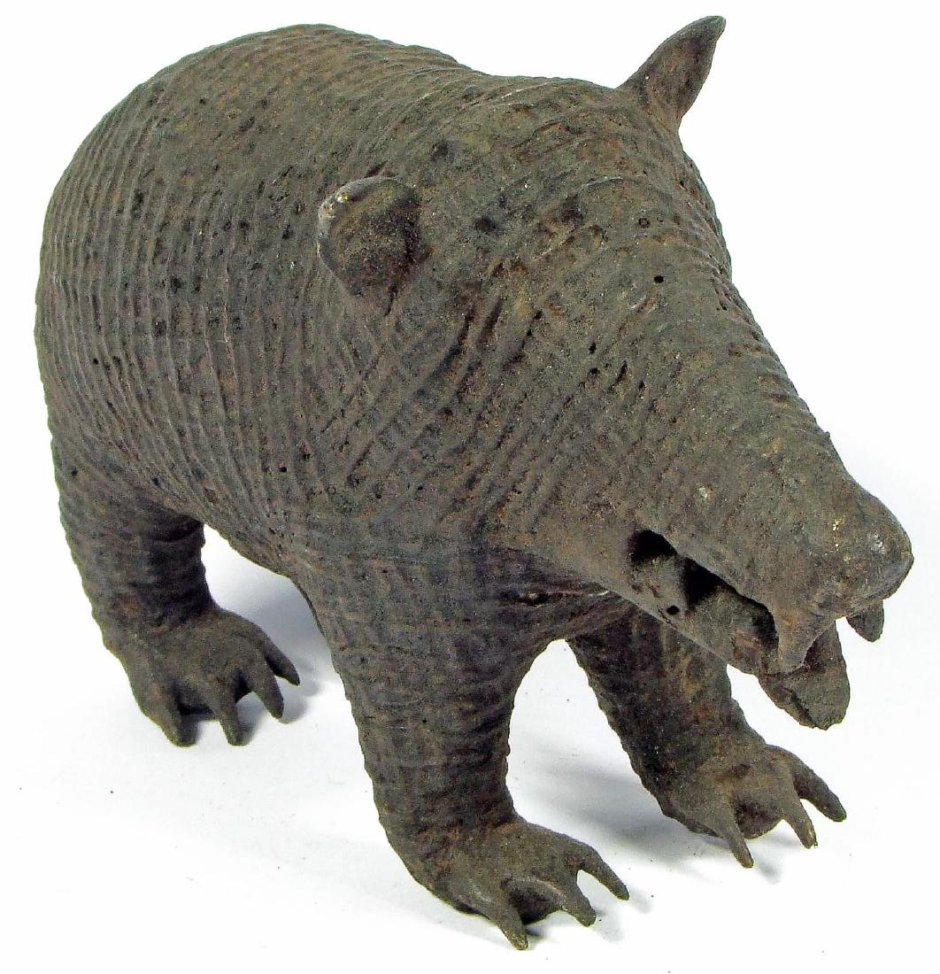 Maliah Kond Sculpture: Boar, India, Early 20th c. - 3