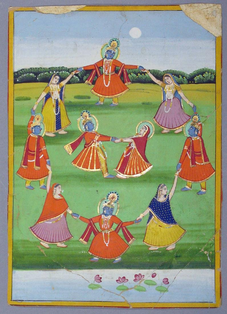 Miniature painting, India, Late 19th c.