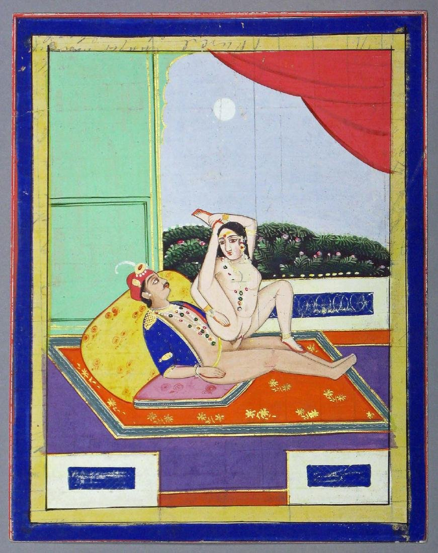 Miniature painting, India, Early 20th c.
