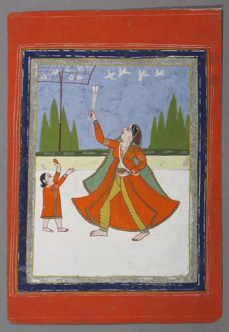 Miniature painting, India, 19th c.