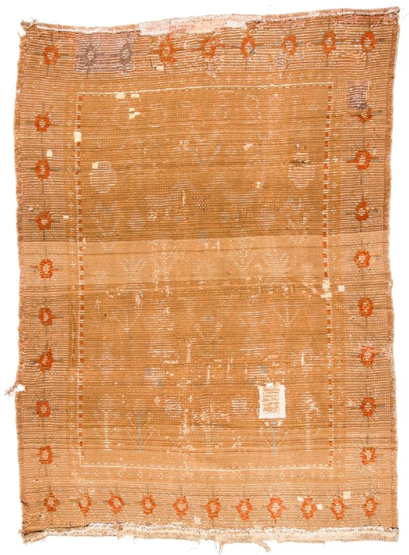 "Early 19th C. Scandinavian Rug, Dated ""1823"" - 6"