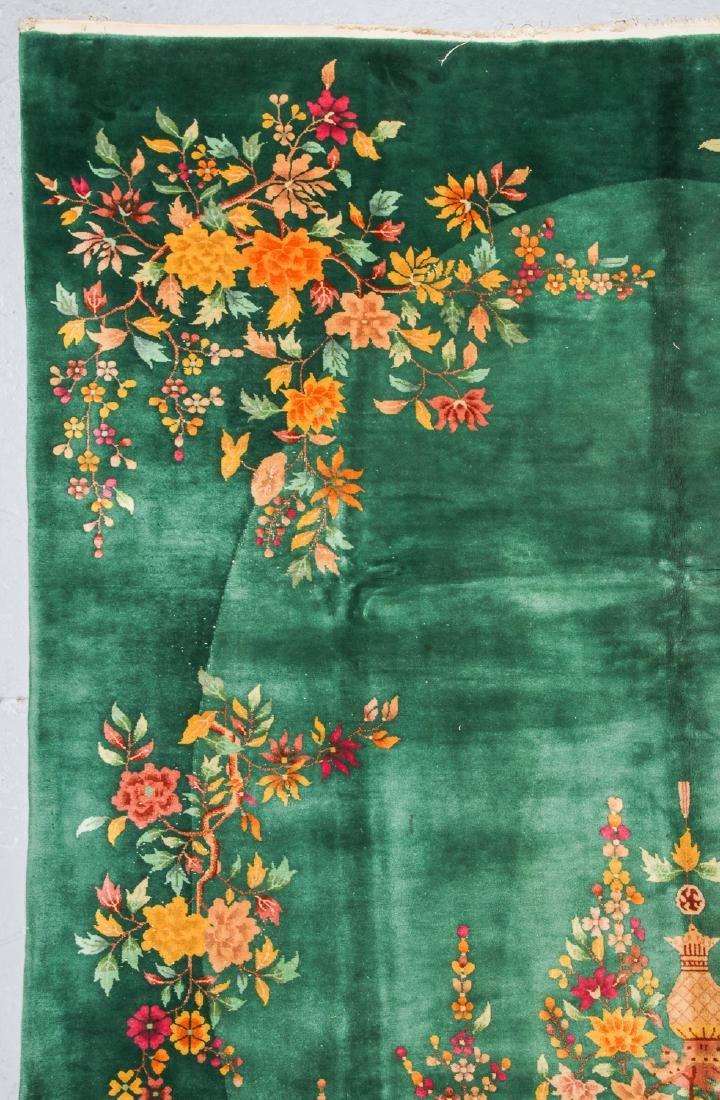 Nichols Art Deco Rug, China, Early 20th C.: 9' x 11'8'' - 2
