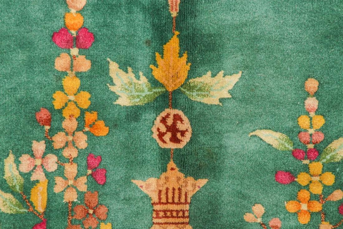 Nichols Art Deco Rug, China, Early 20th C.: 9' x 11'8'' - 3