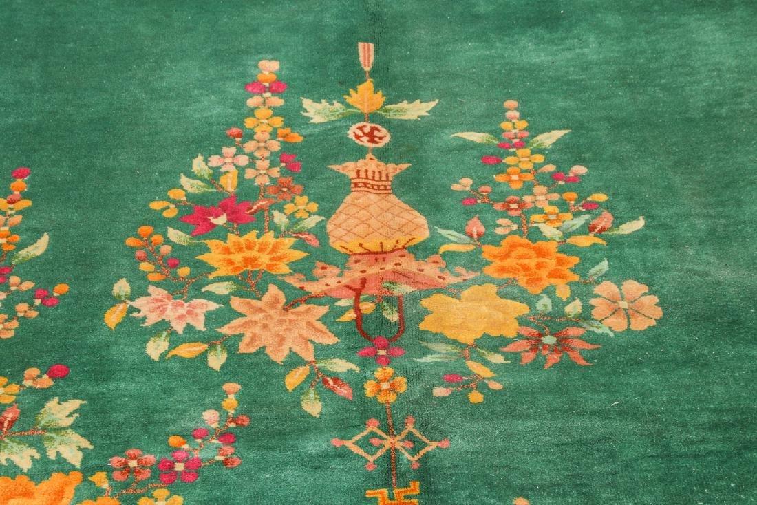 Nichols Art Deco Rug, China, Early 20th C.: 9' x 11'8'' - 6