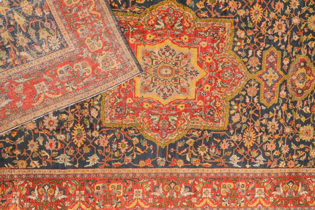 Antique Sultanabad Rug, Persia: 10'6'' x 17'6'' - 4