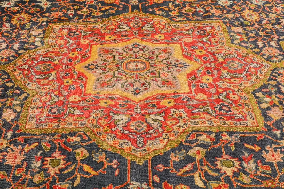 Antique Sultanabad Rug, Persia: 10'6'' x 17'6'' - 6