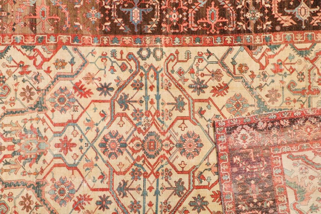 Antique Serapi Rug, Persia: 9' x 14'11'' - 4