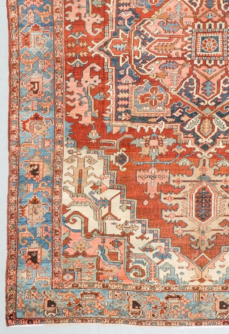 Antique Heriz Rug, Persia: 9'4'' x 12'6'' - 2