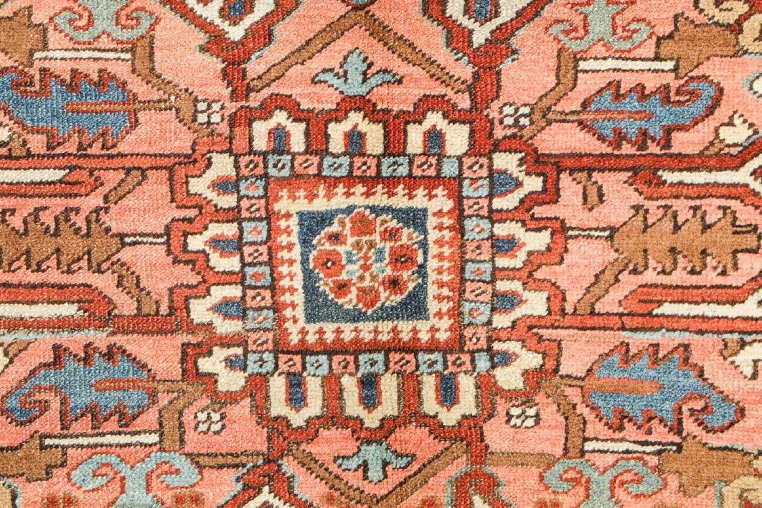 Antique Heriz Rug, Persia: 9'4'' x 12'6'' - 3