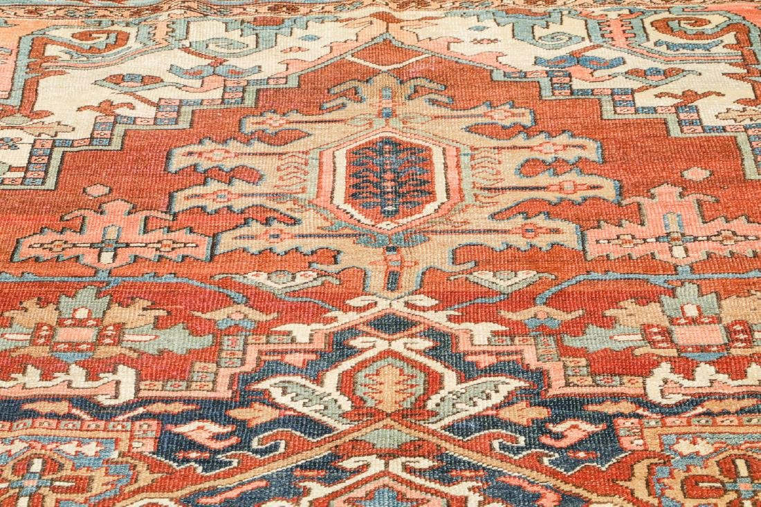 Antique Heriz Rug, Persia: 9'4'' x 12'6'' - 6