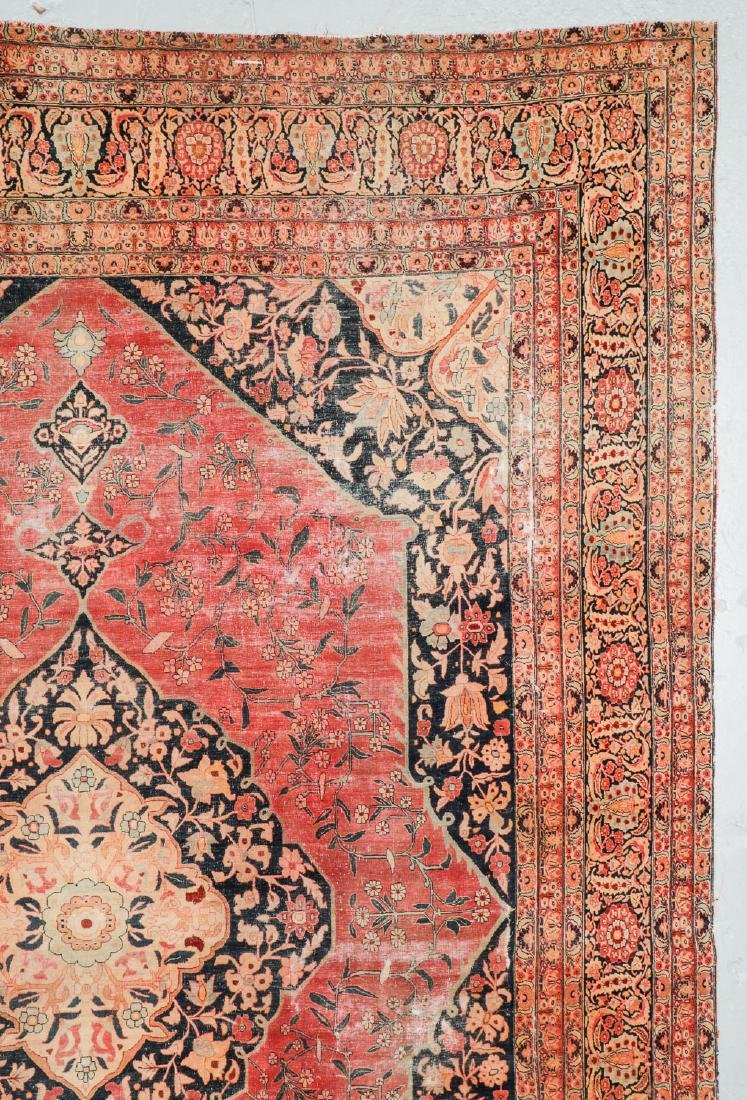 Antique Tabriz Rug, Persia: 10'11'' x 14'10'' - 2