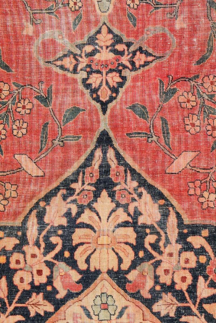 Antique Tabriz Rug, Persia: 10'11'' x 14'10'' - 3