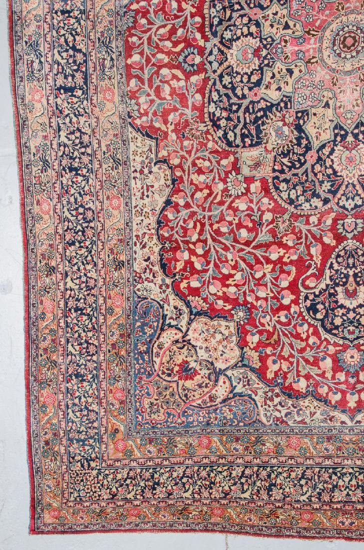 Antique Meshed Rug, Persia: 10'6'' x 15'2'' - 2