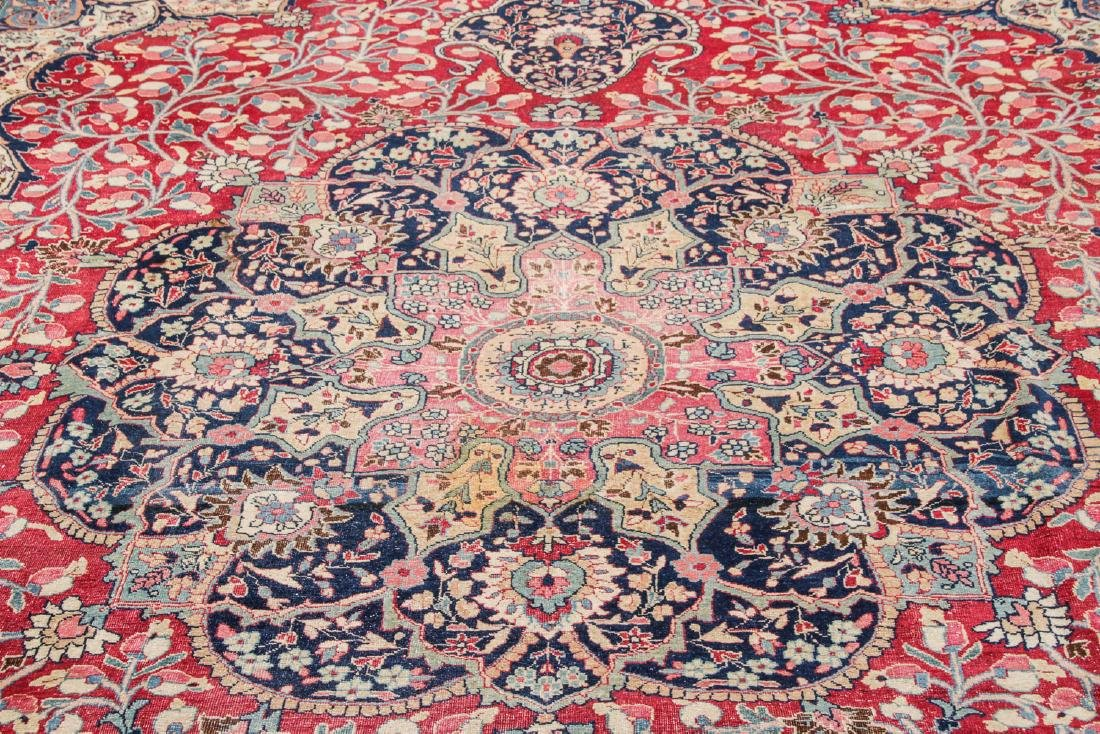 Antique Meshed Rug, Persia: 10'6'' x 15'2'' - 7