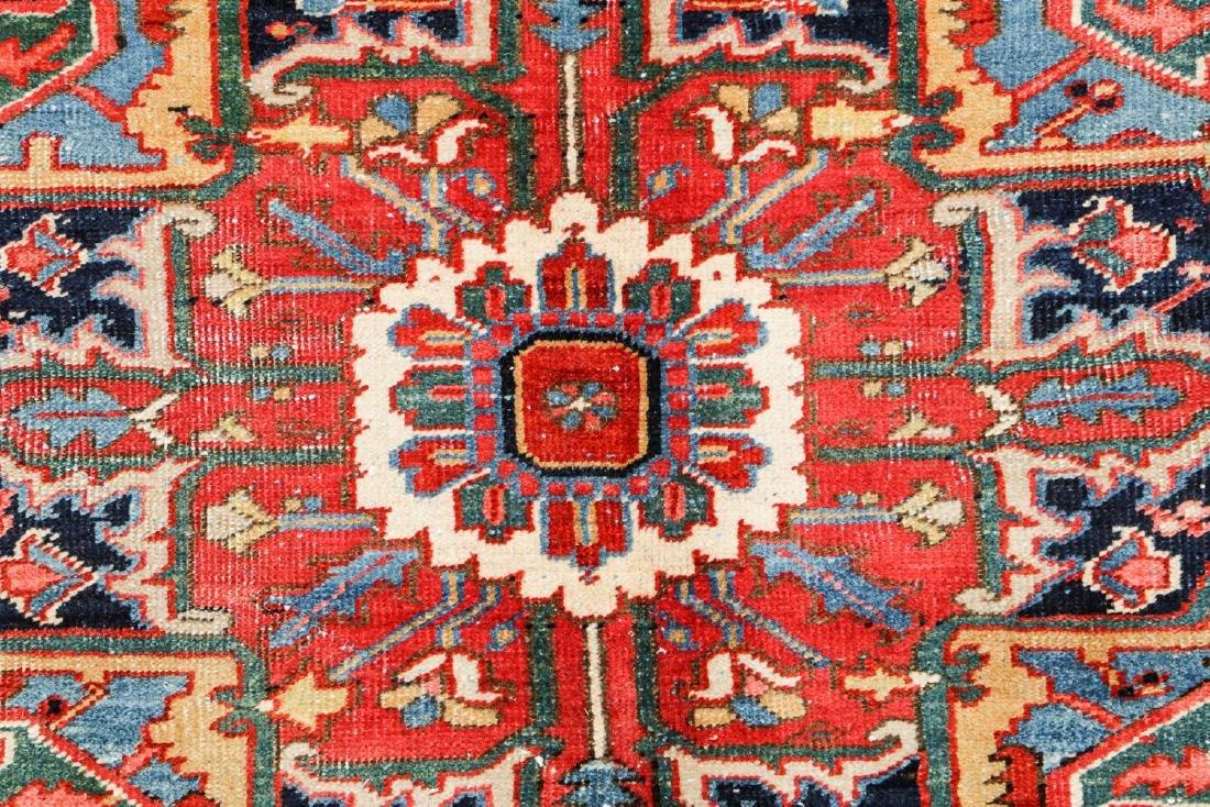 Antique Heriz Rug, Persia: 7'10'' x 10'2'' - 3