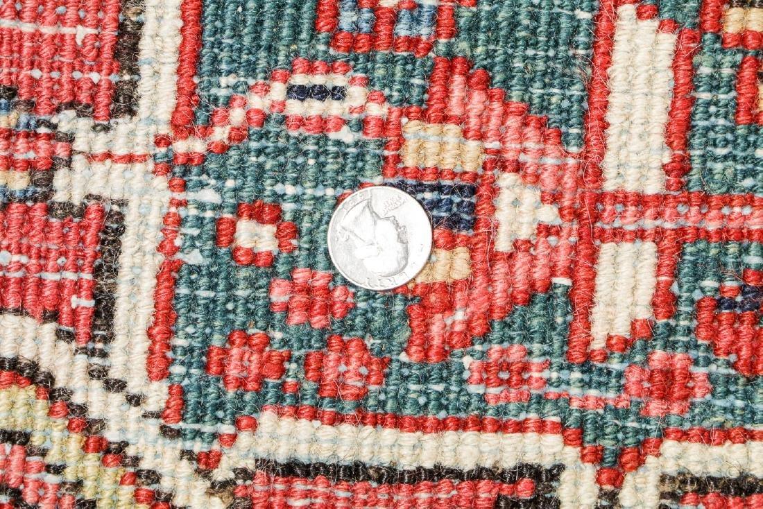 Antique Heriz Rug, Persia: 7'10'' x 10'2'' - 5